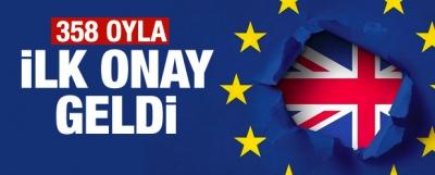 İngiltere Parlamentosunda Brexit kararı