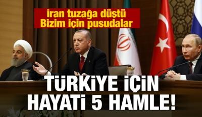 İran tuzağa düştü! Türkiye için pusuda bekliyorlar