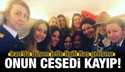 İran'da düşen jet! Cenazeler İstanbul'da