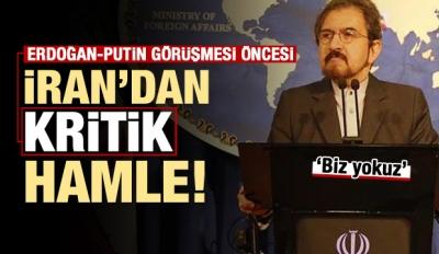 İran'dan Erdoğan-Putin görüşmesi öncesi hamle!
