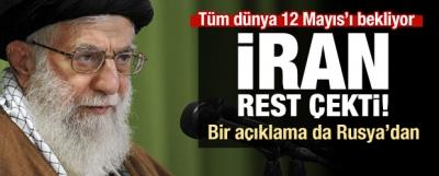 İran'dan peş peşe açıklamalar! Rest çektiler