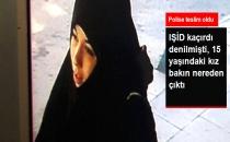 IŞİD'e Katıldığı Söylenen 15 Yaşındaki Kız Konya'ya Gitmiş!