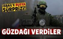 İsrail'e Gözdağı Verdiler: Rusya'ya Açarız!