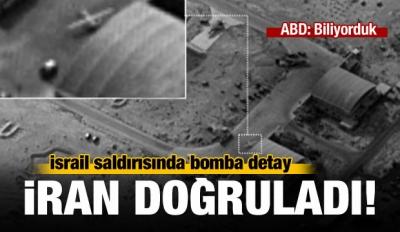 İsrail'in Suriye saldırısında 3 İranlı öldü!