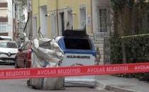 İstanbul-Avcılar'da çöp konteyneri yakınında patlama!