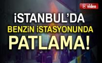 İstanbul Tuzla'da Benzin İstasyonunda Patlama! 3 Yaralı