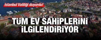 İstanbul Valiliği açıkladı: 90 günlük süre başladı