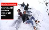 İstanbul ve 26 İlde Okullar Yarın Tatil Edildi