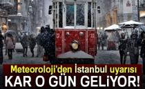 İstanbul'a Kar Ne Zaman Yağacak? Meteoroloji'den İstanbul İçin Kar Uyarısı..