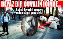 İstanbul'da Vahşet... Çöplerin İçerisinde Bulundu...