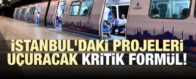 İstanbul'daki projeleri uçuracak kritik formül