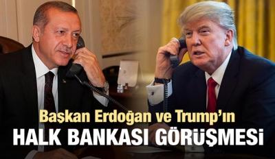 İşte Erdoğan ve Trump'ın Halk Bankası diyaloğu