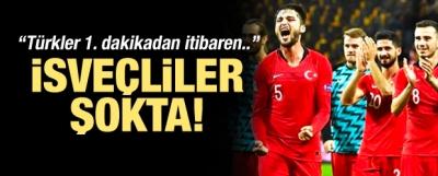 İsveç Şokta! Türkler 1. Dakikadan İtibaren...