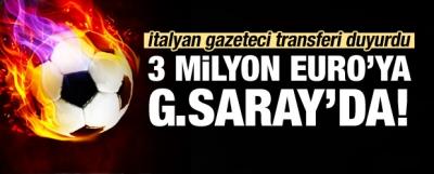 İtalyan gazeteci G.Saray'ın transferini duyurdu!