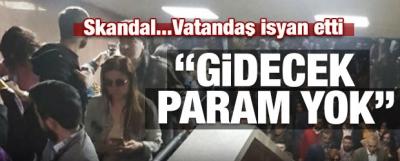 İZBAN'daki arıza vatandaşı mağdur etti