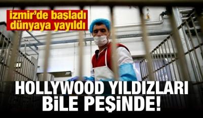 İzmir'de başladı! Hollywood yıldızları bile kullanıyor