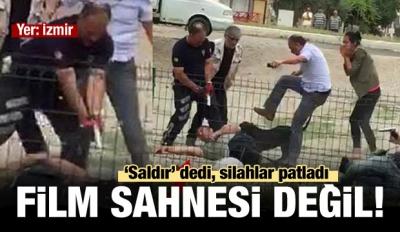 İzmir'de Korku Dolu Dakikalar: Film Sahnesi Değil