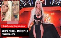 Jelena Karleusa'nın Photoshopsuz Fotoğrafları, Herkesi Şoke Etti