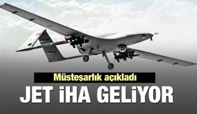Jet motorlu Türk 'İHA' bulutun altını görecek