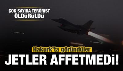 Jetler bomba yağdırdı: Çok sayıda PKK'lı öldürüldü