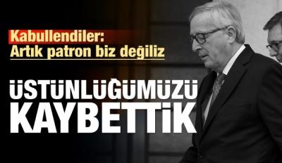 Juncker: Artık Patron Değiliz, Zayıflıyoruz!