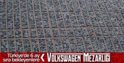 Kaliforniya'daki Volkswagen Mezarlığı!