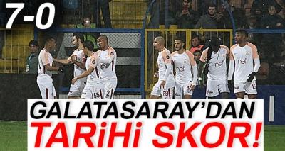Karabükspor 0-7 Galatasaray (Maç Sonucu)
