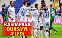 Kasımpaşa: 4 - Bursaspor: 0 (Maç Sonucu)