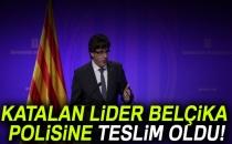 Katalan Lider Belçika Polisine Teslim Oldu