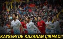 Kayserispor 0-0 Trabzonspor (Maç Sonucu)