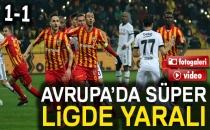 Kayserispor 1-1 Beşiktaş (Maç Sonucu)
