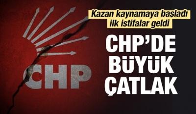 Kazan Kaynamaya Başladı... CHP'de İlk Çatlak