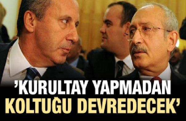 'Kılıçdaroğlu kurultay yapmadan koltuğu devredecek'