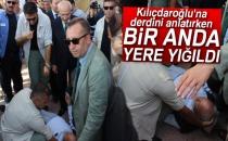 Kılıçdaroğlu'na Derdini Anlatırken Bayıldı