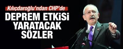 Kılıçdaroğlu'ndan Parti Meclisi'ne şok sözler
