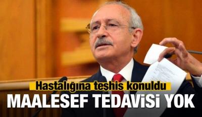 Kılıçdaroğlu'nun hastalığının tedavisi yok