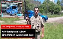 Kılıçdaroğlu'nun Konvoyunda Şehit Olan Askerin Baba Evine Ateş Düştü
