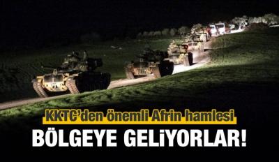 KKTC'den Afrin hamlesi