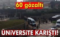 Kocaeli Üniversitesi Karıştı... 60 Gözaltı!