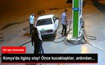 Konya'da İlginç Olay! Önce Kucaklaştılar, Ardından...