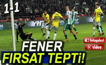 Konyaspor 1-1 Fenerbahçe (Maç Sonucu)