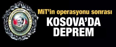 Kosova'da bir bakan ve istihbarat şefi kovuldu!