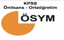 KPSS Sınavı Ne Zaman? | ÖSYM KPSS Önlisans Giriş Belgesi Yayınlandı