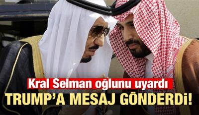 Kral Selman'dan Veliaht Selman'a uyarı