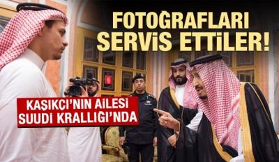 Kral ve Prens Selman Kaşıkçı'nın ailesini ağırladı