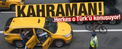 Kredi Kartını Müşterisine Veren Türk Taksici Kahraman Oldu