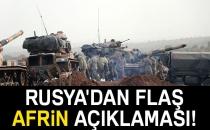 Kremlin'den Afrin operasyonu açıklaması