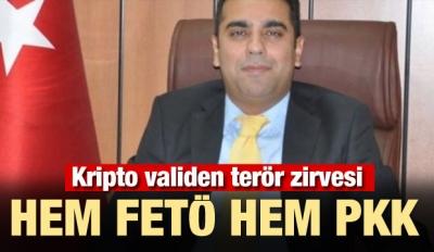 Kripto validen terör zirvesi! Hem FETÖ hem PKK