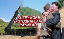 Kuzey Kore, Balistik Füze Denemesinin Fotoğraflarını Yayınladı