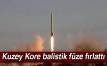 Kuzey Kore Balistik Füze Fırlattı!